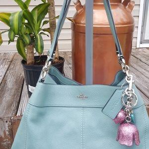 Coach Lexy #F28997 Handbag and matching fob.